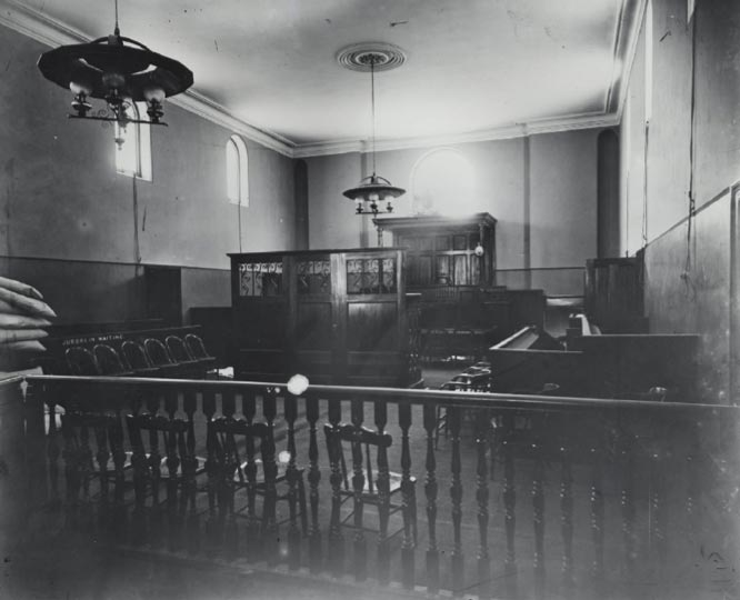 Albury courthouse interior. Photo ID: SRNSW 4481_a026 _000304.jpg