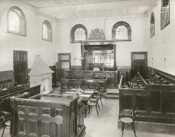 Gundagai courthouse interior, n.d. Photo id: SRNSW 4346_a020_a0200000082.jpg