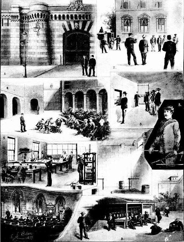 Darlinghurst Gaol Australian Town and Country Illustration