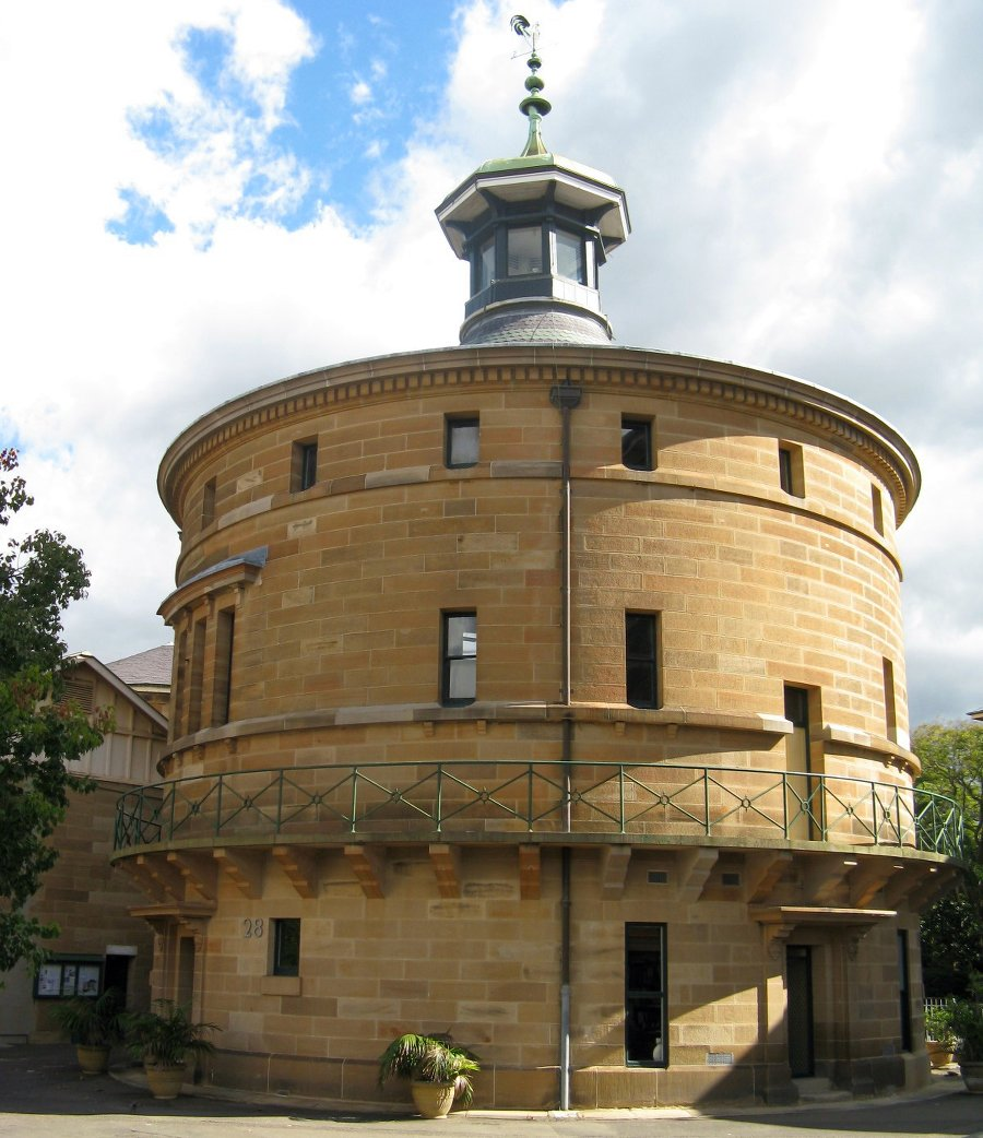 Darlinghurst Gaol Chapel.