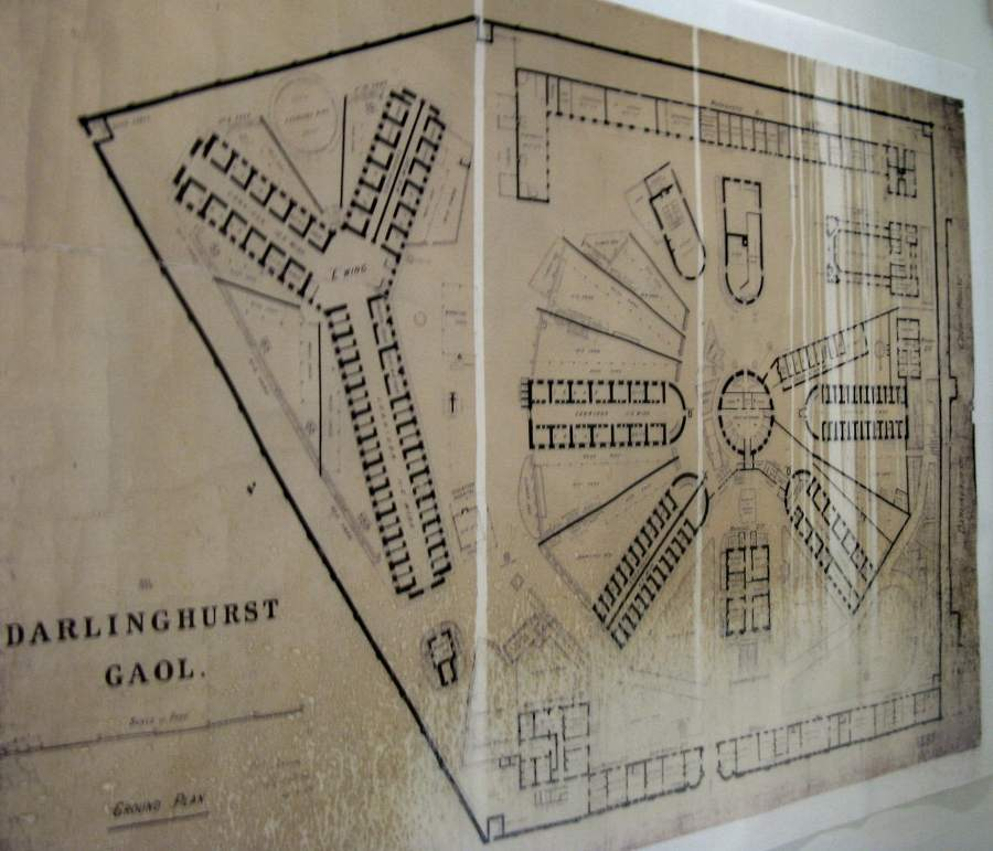 Darlinghurst Gaol Floor Plan