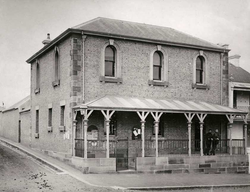 Redfern (old) police station - corner George and Turner Streets, Redfern, n.d. Photo ID: SRNSW 4346_a020_a020000135.jpg