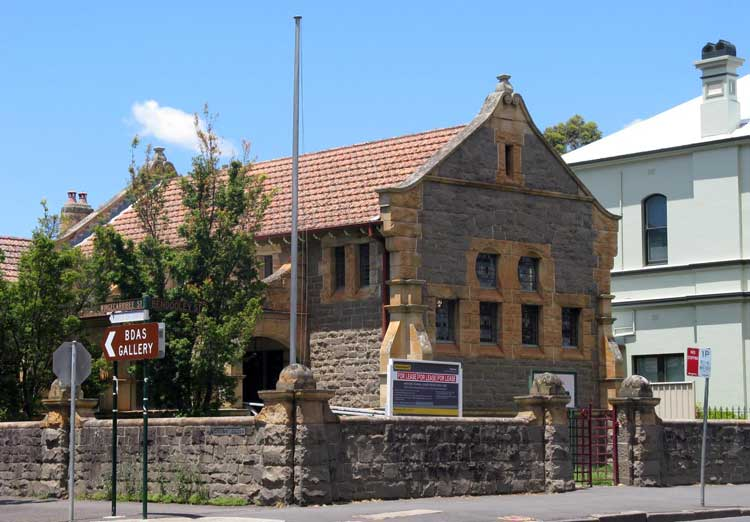 Bowral courthouse, opened 22 May 1896. Photo: Peter de Waal