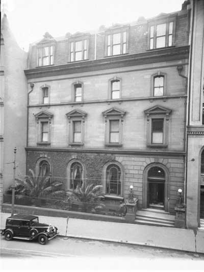 The NSW Club, 25-31 Bligh Street, Sydney. Image: NSW State Library collection. Reproduction: Peter de Waal