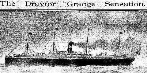 Sketch of Drayton Grange, Source: Australian Town and Country Journal, Sat 23 Aug 1902, p. 23. Reproduction: Peter de Waal