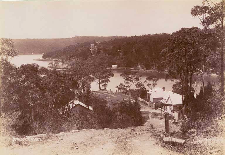 Folly Point, Middle Harbour, c. 1900-1910. Image: NSW State Library collection. Reproduction: Peter de Waal