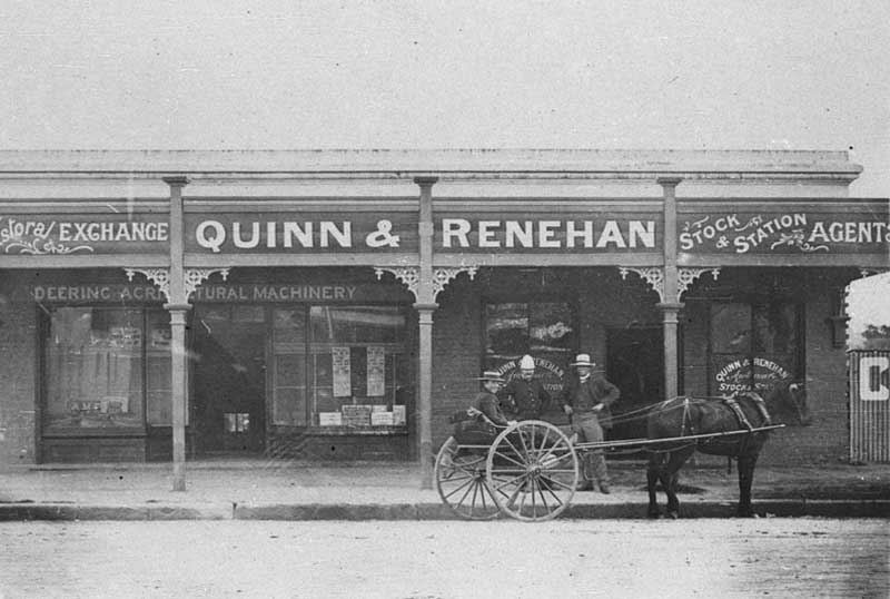 Two Cootamundra streets were named after these gentleman. Renehan served on the local council, n.d. Image: NSW State Library collection. Reproduction: Peter de Waal